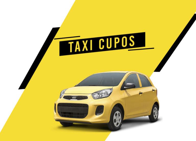 Taxi cupos: todo lo que debes saber