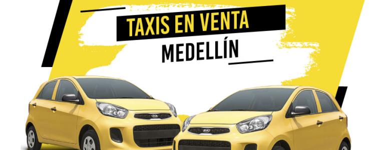 ¿Dónde encontrar taxis en venta Medellín?